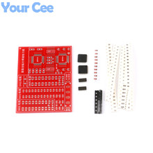 5 pcs SMD SMT Components Welding Practice Board Soldering Skill Training Beginner DIY Kit Electronic Component