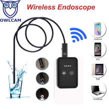 Newest USB WIFI Endoscope Camera 2MP Wifi Endoscope Support 30m Wifi Distance Android IOS Tablet Iphone USB Endoscope HTWE9