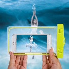 Waterproof Phone Case Cover Underwater Bag Dry Diving Pouch Swimming Coque Fundas For Huawei P10 Samsung S8 xiaomi redmi 6 inch