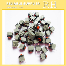 20PCS/lot original KAILH square silent mouse micro switch mouse button can replace a rectangle micro switch 8 millions lifetime