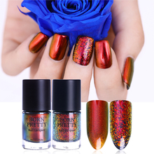 9ml BORN PRETTY Chameleon Nail Polish Sunset Glow Raging Fire Pandora's Box Sequins Nail Varnish Black or Dark Base Color Needed