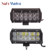 SufeMotec 1PCS 60W 7.5 Inch 4D LED Light Bar Car Fog Lamp For Off Road Trucks 4X4 4WD Boat Spot Flood Driving Work Lights 12V