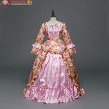 New Gothic Period Masquerade Dress Holiday Marie Antoinette Prom Gown  Victorian Rococo Prom Gown Inspired Medieval Costumes 754f843d51be