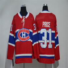 Mens Carey Price Embroidered Throwback Hockey Jersey Size M-3XL(China)