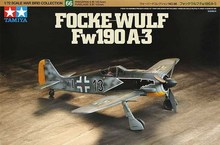 Tamiya assembled aircraft model 60766 1/72 Germany FW190 A-3 fighter