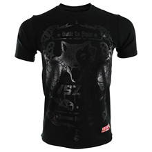 VSZAP BUILT 2 FIGHT mens fist Short-sleeved T-shirt Muay Thai mma t shirt Elasticity Water absorption Quick-drying Wolf