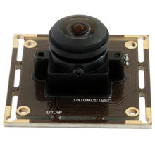 1.3mp low light 0.01lux Low illumination cmos hd usb 2.0 wide angle digital cctv 180degree fisheye lens camera module with UVC(China)
