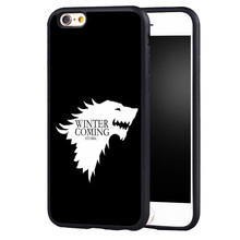 Game of Throne Printed Phone Case Skin Shell for Samsung Galaxy s4 s5 s6 S7 edge S8 plus note 2 3 4 5