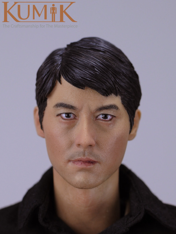 1/6 Scale  Male Head Carving Model DIY Head Sculpt 12 inches Body figure Collections<br>