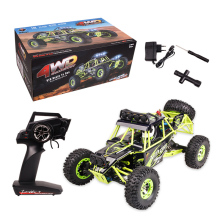Original Wltoys 12428 RC Car 1/12 Scale 2.4G Electric 4WD Remote Control Car 50KM/H High speed RC Climbing Car Off-road vehicle(China)