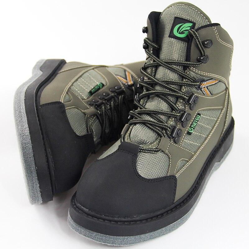 Neygu Men Breathable Fishing Boots Wading Shoes for Waders Hunting Boots Fishing Shoes Dry Quickly<br>
