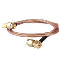 1 PCS New SMA male right angle to SMA plug pigtail cable R(China)