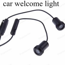 NEW 2PCS/lot Welcome Light Led Auto Logo Emblem Laser Lamp LED Car Door Step Ghost Shadow Projector Lamp For GMC for sale