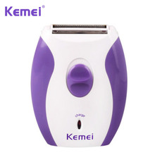 Kemei Rechargeable Electric Shaving Machine Women Epilator Electric Shaver Razor Wool Depilador for Body Underarm Hair Removal