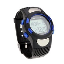 YCYS-3 ATM Heart Rate Monitor Watches Waterproof Sport Pulse Fitness Exercise Watch Stopwatch Pedometer calorie Outdoor Cycling