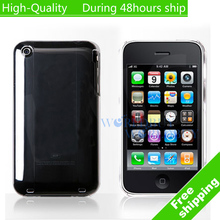 High Quality Transparency Clear Crystal Hard Case Cover For iPhone 3G 3GS