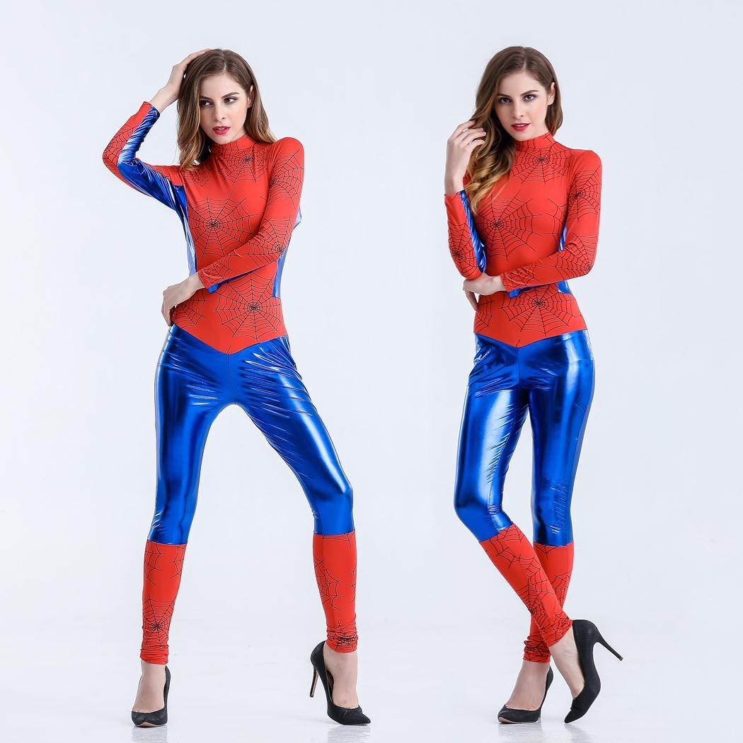spiderman costume adulte promotion achetez des spiderman costume adulte promotionnels sur. Black Bedroom Furniture Sets. Home Design Ideas