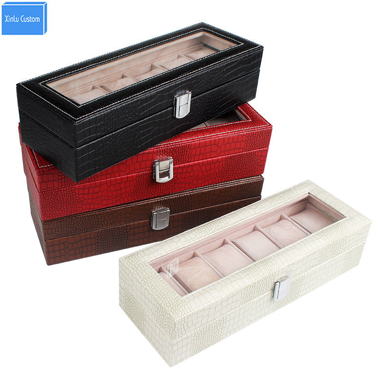 15% Discount Boxes&amp;Organize Wholesale Luxury Brand Antique&amp;Modern Gift Women Watch Box Jewelry Craft Leather Collecte Storage<br>
