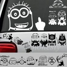 Minion Vinyl Decor Gift Decal Car Truck Window Bumper Stairs Wall PC Sticker 13 Types