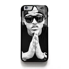 AUGUST ALSINA AMERICAN SINGER fashion phone cover case for iphone 4 4s 5 5s SE 5c 6 6s 7 6 plus 6s plus 7 plus &ww20