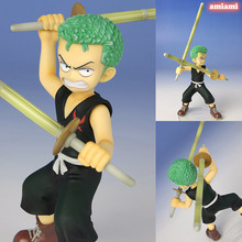 Megahouse One piece manga model toys ONE PIECE Roronoa Zoro, Animation model toy. Gifts for children(China)
