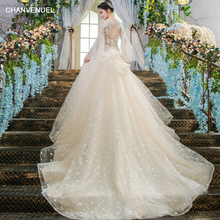 LS00399 sexy wedding dress from China online wedding gown dress bridal long tail wedding dresses cathedral  wedding gowns 2017
