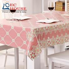 Waterproof oil proof disposable lace tablecloth plastic table cloth PVC soft glass mat FREE SHIPPING