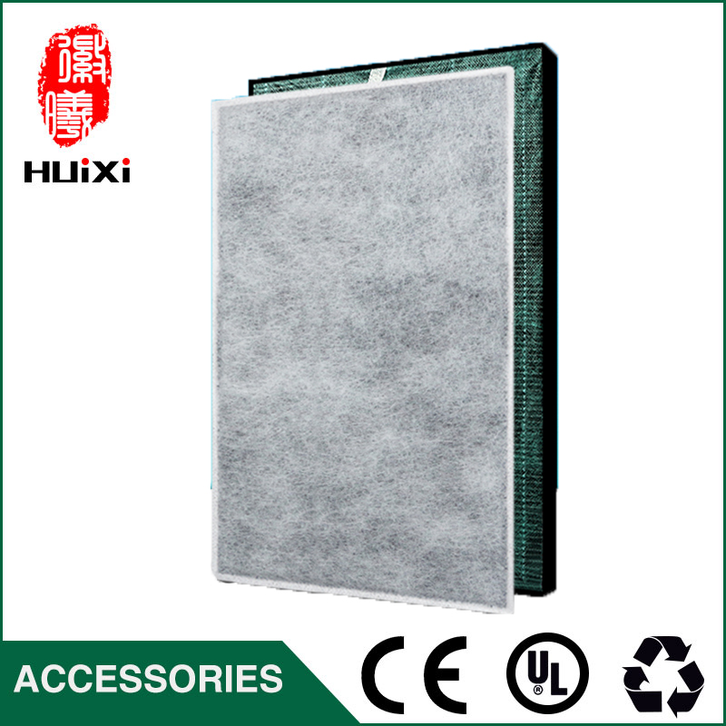 450*250*40mm HEPA filter + 450*250*3mm formaldehyde filters composite air purifier parts KC-C150SW KI-BB60-W KI-DX85 KI-BX85 <br>