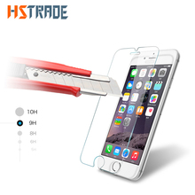 HSTRAOE 3D 9H Transparent HD Tempered Glass For Apple iphone7 iphone 7 Plus Screen Protector Front Screen Protection Film +Tool