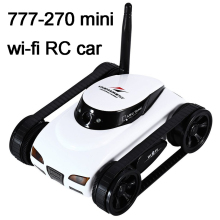 RC Car with  Camera Happy Cow 777-270 WiFi i-spy Tank Car FPV 30w Pixels Deformable Support IOS Phone Android iPhone iPad FSWB