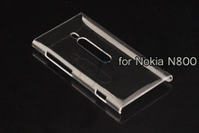 For Nokia Lumia 800 N800 Case New High Quality Transparent Hard Plastic Crystal Clear Luxury Protective Phone Back Case Cover