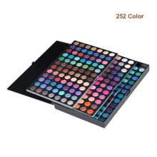 Makeup palette 252 colors Eyeshadow Palette of shadows makeup Eye shadow make up eye shadow palette 252 matte shadow to eye new