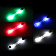 1Pc Reflective Safety Belt Arm Strap Night Cycling Running LED Armband Light Free shipping