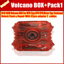 The Newest Original Volcano Box For Coolsand Unlock Flash & Repair With 32pcs adapter 2 cables +PACK1(China)