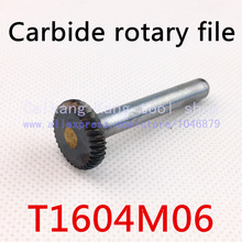 Head 16mm,Dise type with arc edge,carbide rotary burrs,  deburring with rasp, carbide burrs, carbide grinding.T1604M06