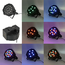 2016 54W 18x3W LED RGB Stage Light 6 Channel Projector DJ Party Club New  hot Store