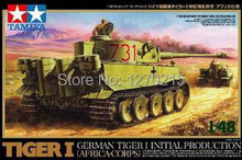 TAMIYA scale model 1/48 32529 German Tiger I Initial Prod Assembly Model kits Modle building plastic scale model