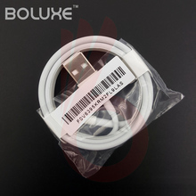10pcs/lot 1M 2M Original E75 Chip OD 3.0MM USB Sync Data Charger Cable for iPhone 7 7Plus 6 6s 5 5s USB Cable with retail box