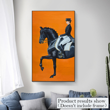 Modern HD Horse Posters And Prints Canvas Painting Wall Art Pictures For Living Room Animal Fashion Nordic Style Home Decor(China)