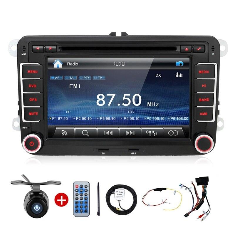 Auto USB Car PC DVD GPS 2 Din Stereo Player For VW Golf 5 6 Polo Bora Jetta MK4 B6 Passat Tiguan Skoda Octavia Fabia BT FM RDS<br><br>Aliexpress