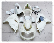 Motorcycle Unpainted White Fairing Cowl Body work Kit For SUZUKI GSX/TL1000R 1998 - 2002 99 00 01 + 4 Gift(China)