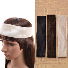 Qlychee Hair Jewelry 2016 New Flexible Velvet Wig Grip Scarf Head Hair Band Headbands Wedding Hair Accessories Headband(China)