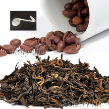 Beautiful Tea strainers+gift Coffee Flavor Puerh Tea,Fragrnat flavor Loose Leaf Pu'er,Slimming Ripe Pu-erh,CTX816