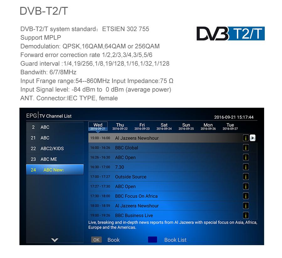 image for MECOOL KI PRO DVB Android 7.1 TV Box DVB-T2/DVB-S2/DVB-C Amlogic S905D