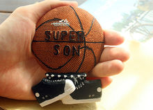 Great gift for super son, NBA Basketball Shoes Shaped 3D Resin Fridge Magnet Craft GIFT(China)