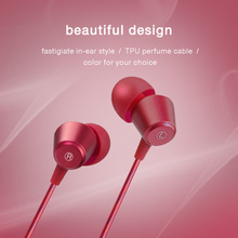 kebidumei 3.5mm Earphone Metal headset In-Ear Earbuds For Mobile phones computers MP3 MP4 Earphones earphone for mobile phone(China)