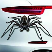 Buy New Car Body Decal Motorcycle Decorations Sticker Halloween Car Wall Home 3D Spider Sticker Mural Decor Decal Removable Terror for $1.22 in AliExpress store