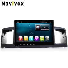 Navivox 9'' 2din Android6.0 Full Touch Car Stereo AudioPlayer For BYD F3/Corolla  GPS Navigation  Wifi/BT/3G/4G/SWC/RDS HD1080P