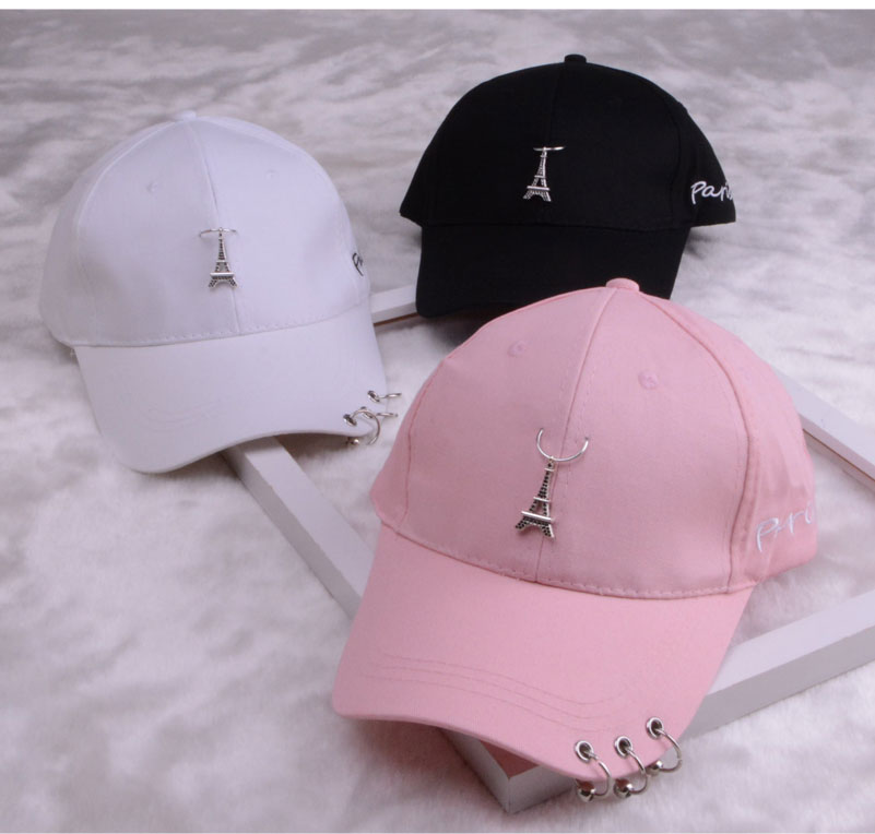 baseball cap with ring dad hats for women men baseball cap women white black baseball cap men dad hat (13)