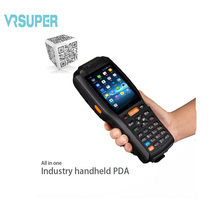 PDA3506 Android 6.0 OS Rugged PDA WiFi 3G RFID 1d laser barcode scanner handheld(China)
